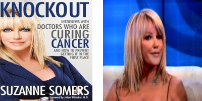 Suzanne Somers' alternative battle against breast cancer